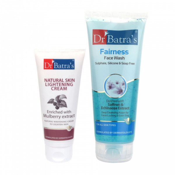 Dr Batra's Natural Skin Cream With Face Wash Combo Pack