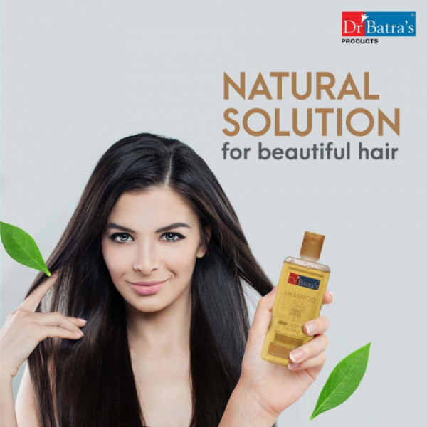 Dr Batra's Herbal Hair Color Cream (Brown) With Normal Shampoo Combo Pack