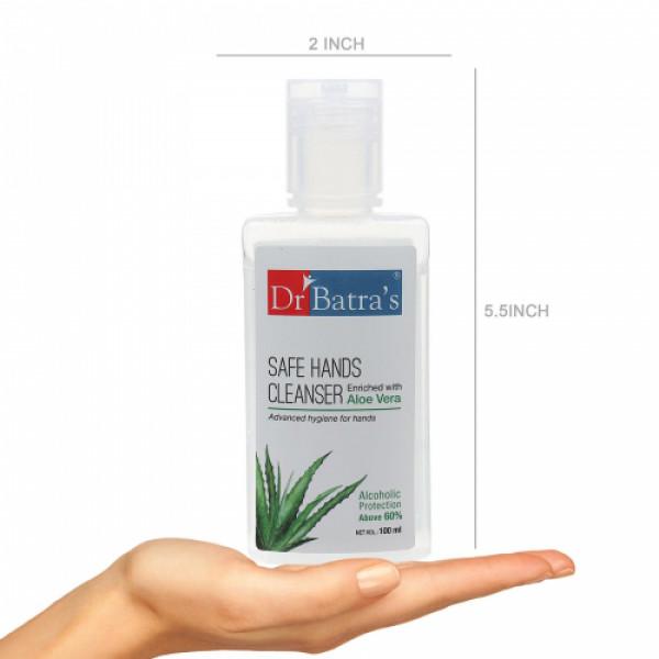 Dr Batra's Safe Hands Cleanser, 100ml (Pack of 4)