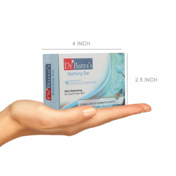 Dr Batra's Skin Refreshing Bathing Bar, 125gm (Pack of 4)
