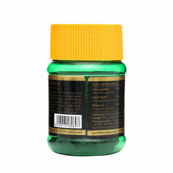 Dr. Vaidya's Herbobuild, 30 Capsules (Pack Of 2)