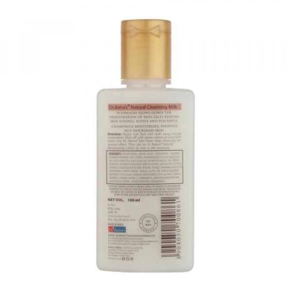 Dr Batra's Natural Cleansing Milk, 100ml (Pack of 4)