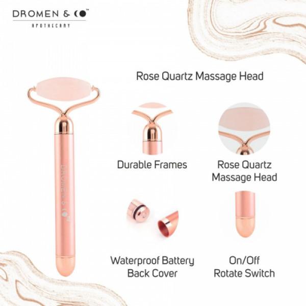 Dromen & Co Rose Quartz Electric Roller