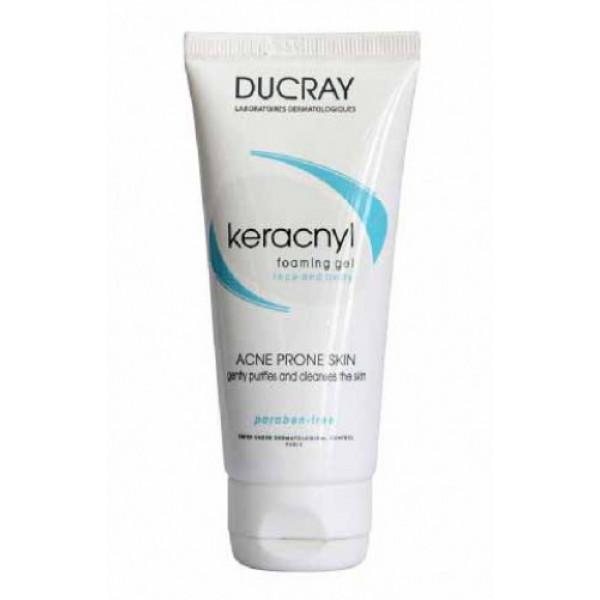 Ducray Keracnyl Foaming Gel, 100ml