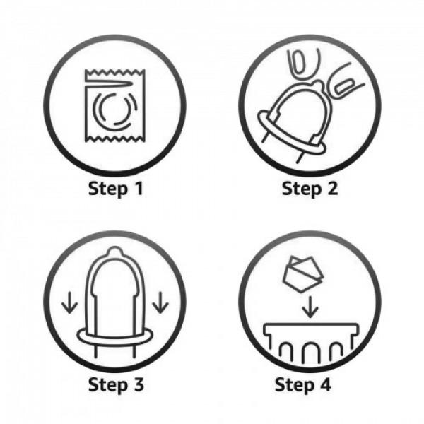 Durex extra Ribbed Condoms, 10 Pcs