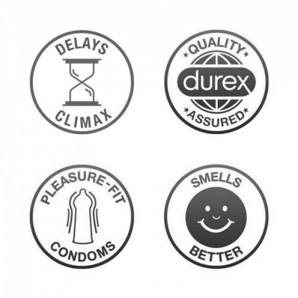 Durex Condoms extra Time, 10 Pcs
