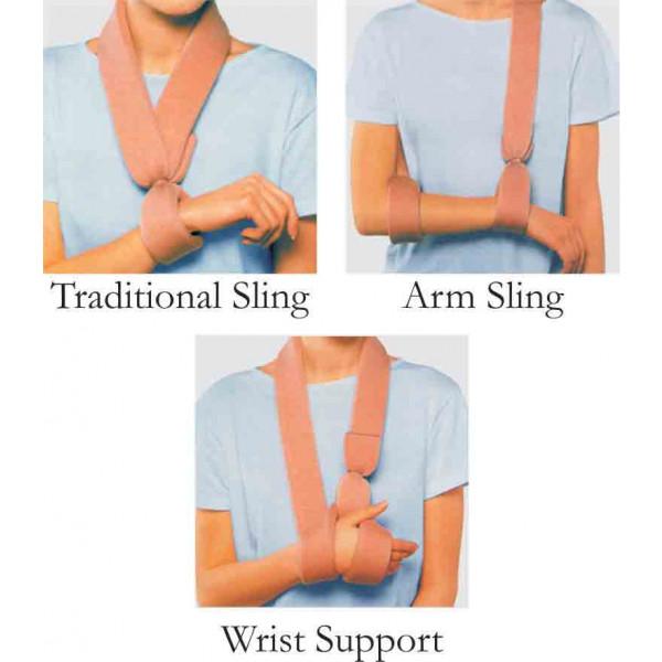 Dyna Sling With Tie Quadri 5cms Width * 6m Length