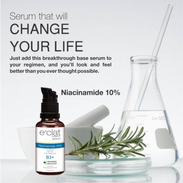 E'clat Superior Niacinamide 10% Serum - Repairing Booster B3+, 30ml