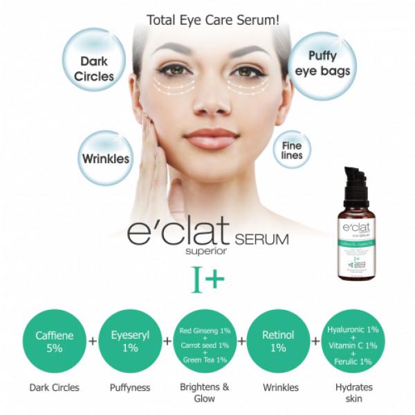 E'clat Superior Eye Serum - Tightening Brightening Eye Serum I+, 30ml