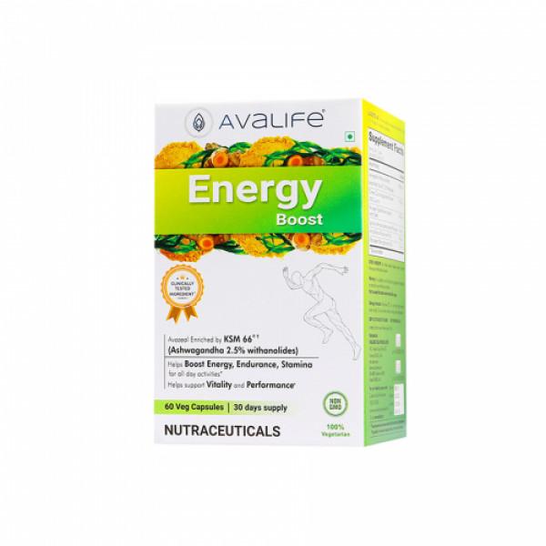 Avalife Energy Boost, 60 Capsules
