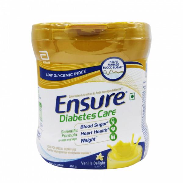 Ensure Diabetes Care Vanilla Delight, 400gm