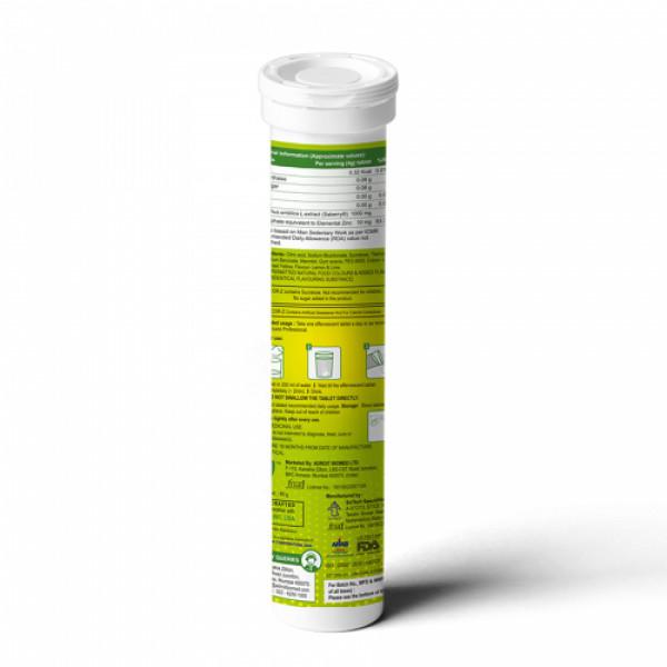 Escor-Z Effervescent Tablets – Lime and Lemon Flavour, 20s