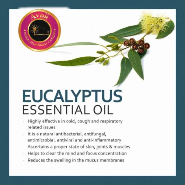 Avnii Organics Natural Eucalyptus Essential Oil, 15ml