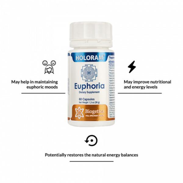 Biogetica Holoram Euphoria, 60 Capsules