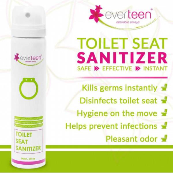 everteen Toilet Seat Sanitizer Spray, 90ml