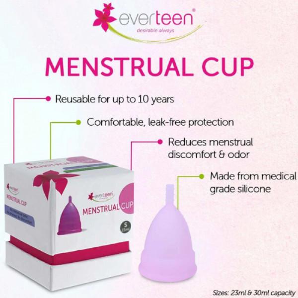 everteen Menstrual Cup (23ml Capacity) - Small