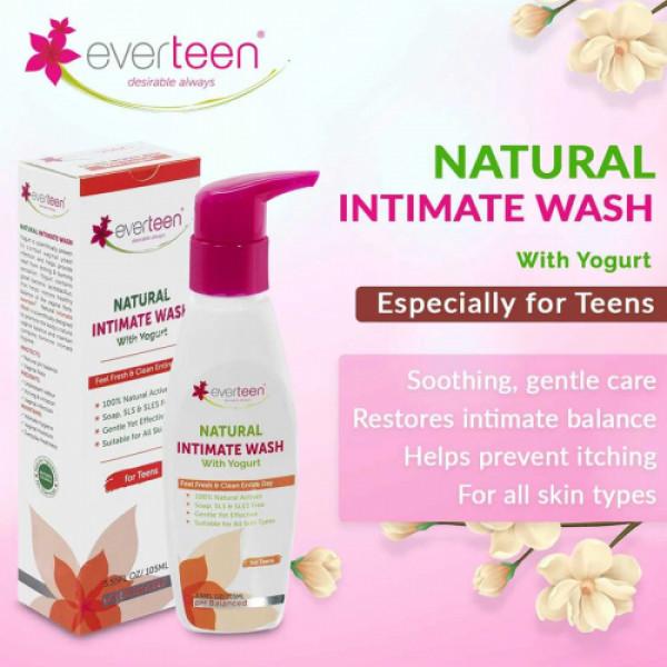 everteen Natural Intimate Wash, 105ml