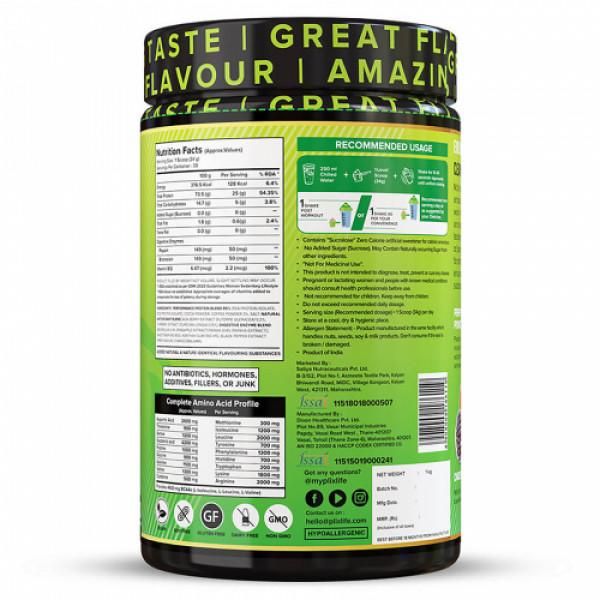 Plix Evolve Performance Plant Protein Powder Cafe Mocha Flavour, 1kg