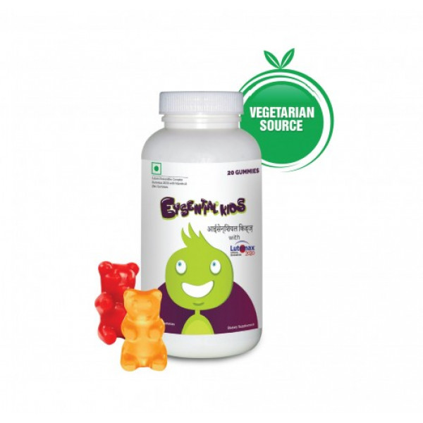 Eysential Kids Gummies - Tastier Way to Eye Health , 20 Gummies