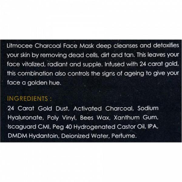 Litmocee Charcoal Face Mask, 100ml