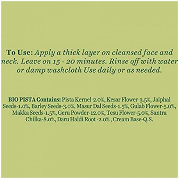 Biotique Bio Pistachio Youthful Nourishing & Revitalizing Face Pack, 50gm