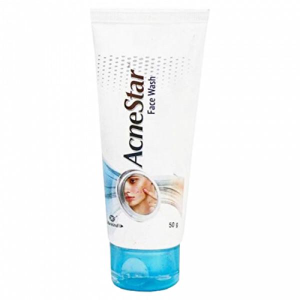 AcneStar Face Wash, 50gm