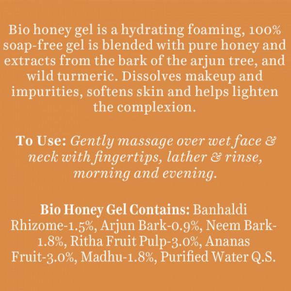Biotique Bio Honey Gel Hydrating Face Wash, 150ml