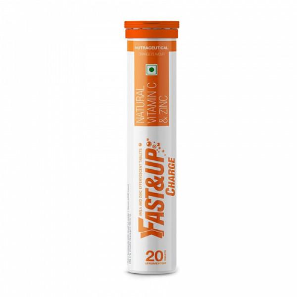 Fast&Up Charge Effervescent (Orange), 20 Tablets