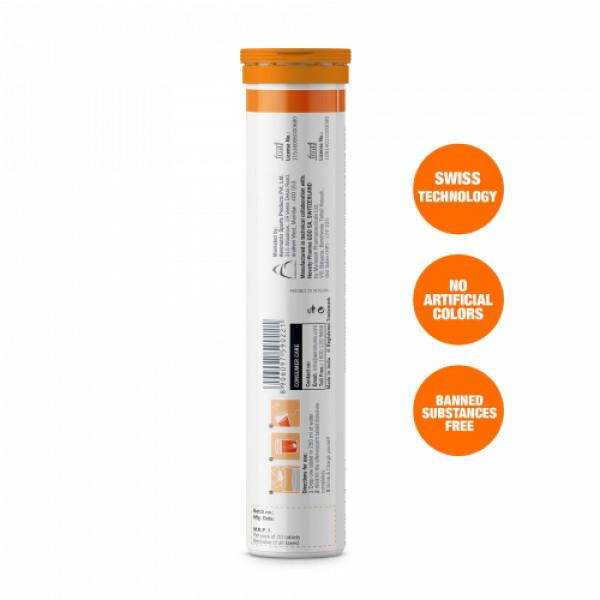 Fast&Up Charge Plus Effervescent (Orange), 20 Tablets