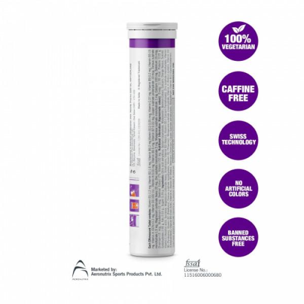 Fast&Up Vitalize Effervescent (Orange), 20 Tablets