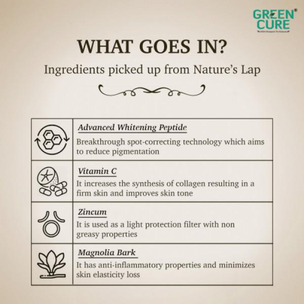 Green Cure Golden Glow Advanced Brightening Cream, 50gm