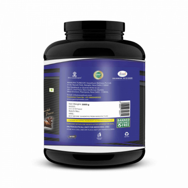 Mettle Super Whey Gold Chocolate, 3kg
