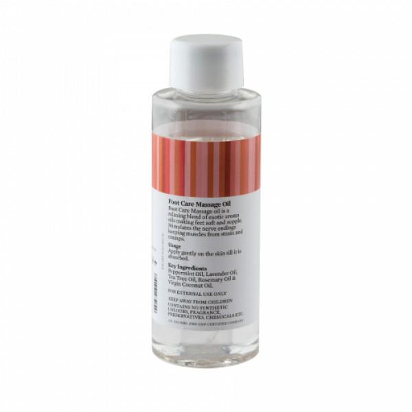 Bipha Ayurveda Foot Care Massage Oil, 90ml