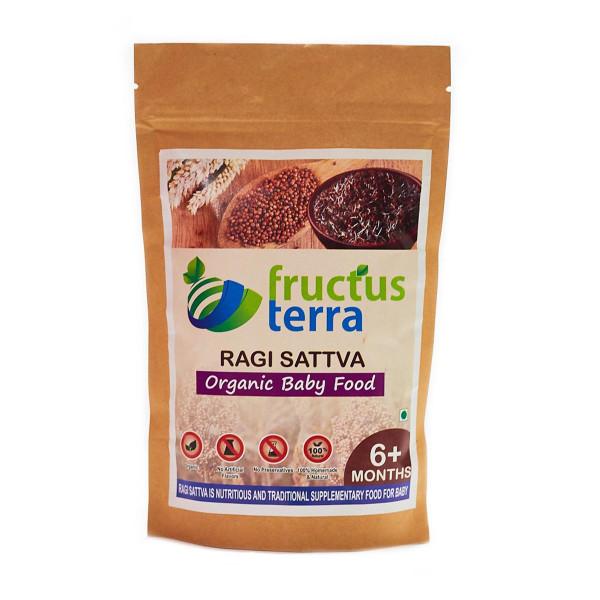 Fructus Terra Organic Sprouted Ragi Sattva, 250gm