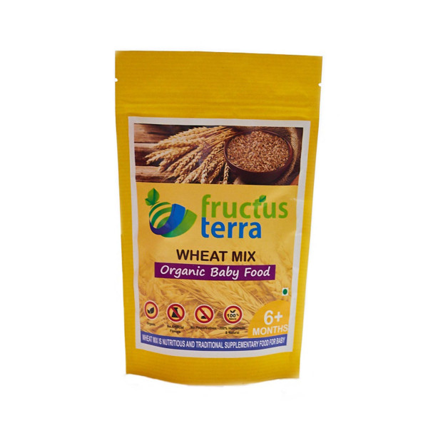 Fructus Terra Organic Sprouted Wheat Mix, 250gm