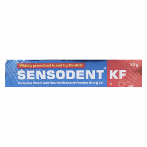 Sensodent KF Dental Gel, 50gm