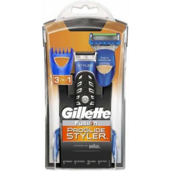 Gillette Fusion Proglide 3-in-1 Styler Runtime: 30 min Trimmer for Men