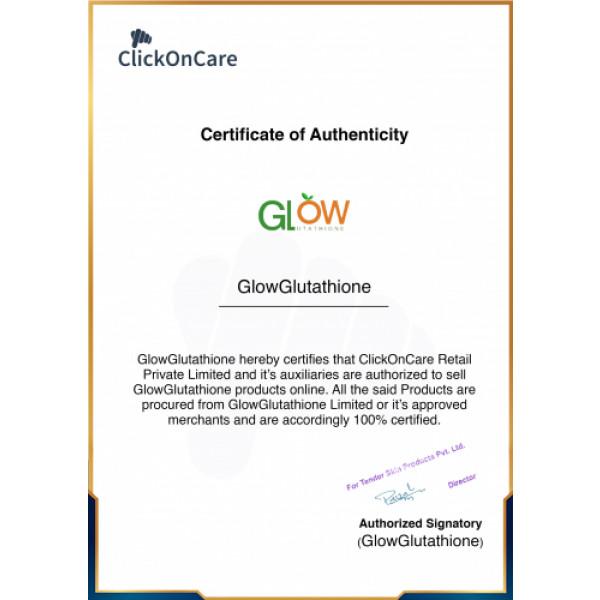 GlowGlutathione Effervescent - Orange, 15 Tablets