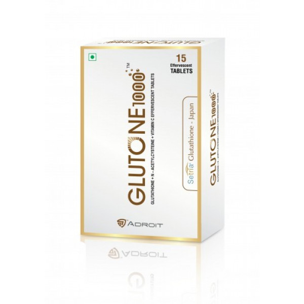 Skin Glow Combo Glutone 1000 with Escor C (Orange Flavour)