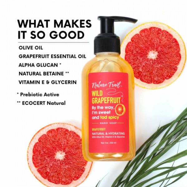 Nature Trail Wild Grapefruit Hand Wash, 200ml