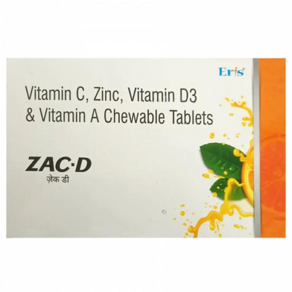 Zac D Chewable,15 Tablets