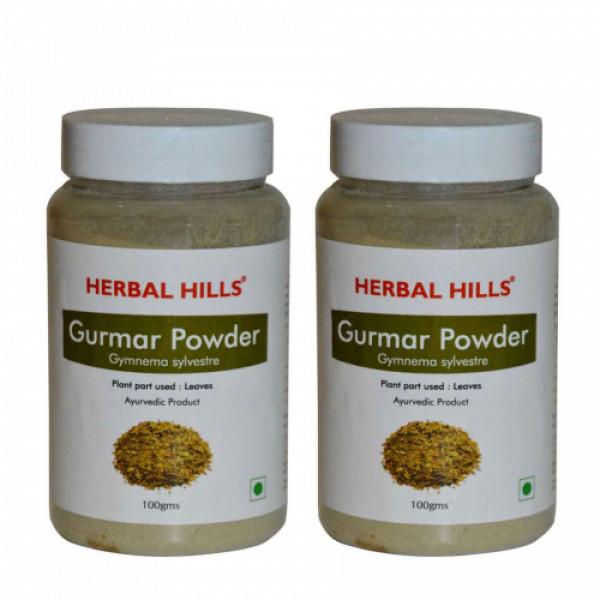 Herbal Hills Gurmar Powder, 100gm (Pack Of 2)