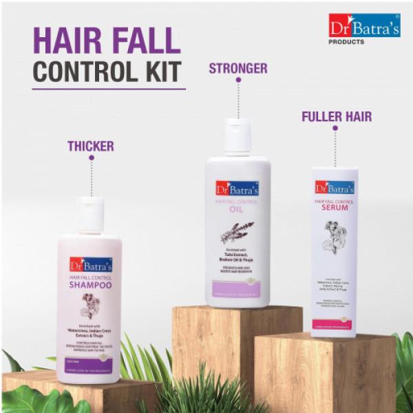 Dr Batra's Hair Fall Control Kit
