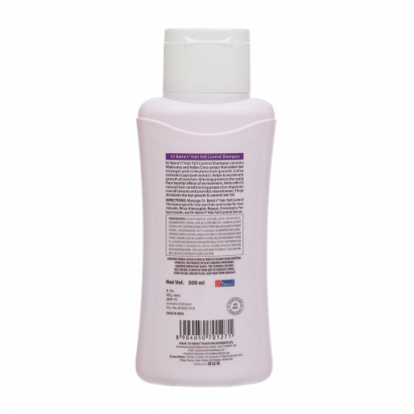 Dr Batra's Hair Fall Control Shampoo, 500ml