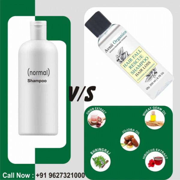 Avnii Organics Hair Fall Rescue Shampoo, 200ml