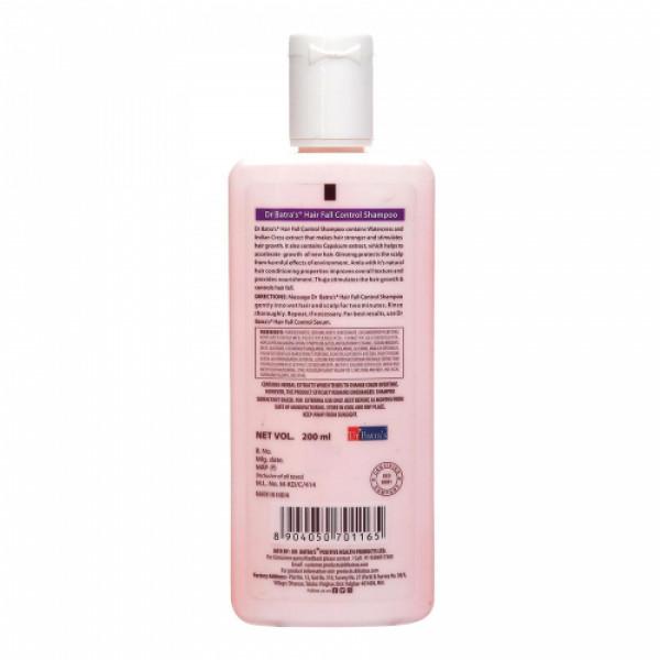 Dr Batra's HairFall Control Shampoo, 200ml (Pack of 2)