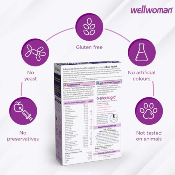 Wellwoman Hairfollic, 30 Tablets