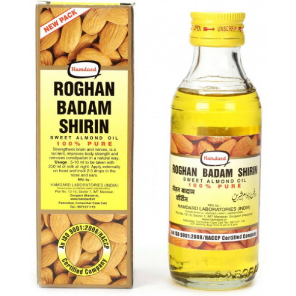 Hamdard Roghan Badam Shirin Oil, 100ml