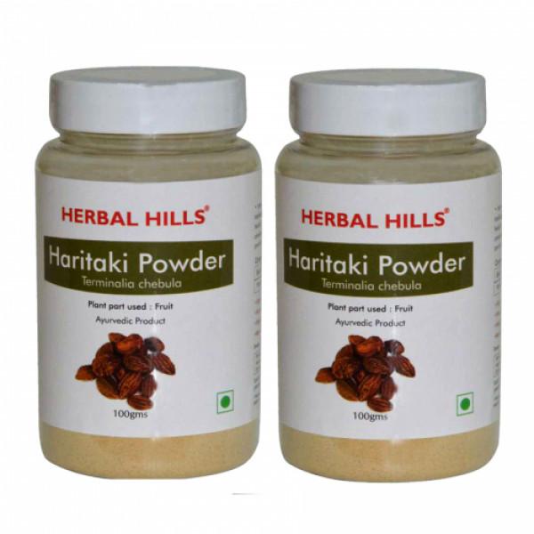 Herbal Hills Haritaki Powder, 100gm (Pack Of 2)