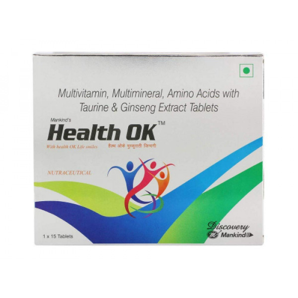 Health OK, 15 Tablets